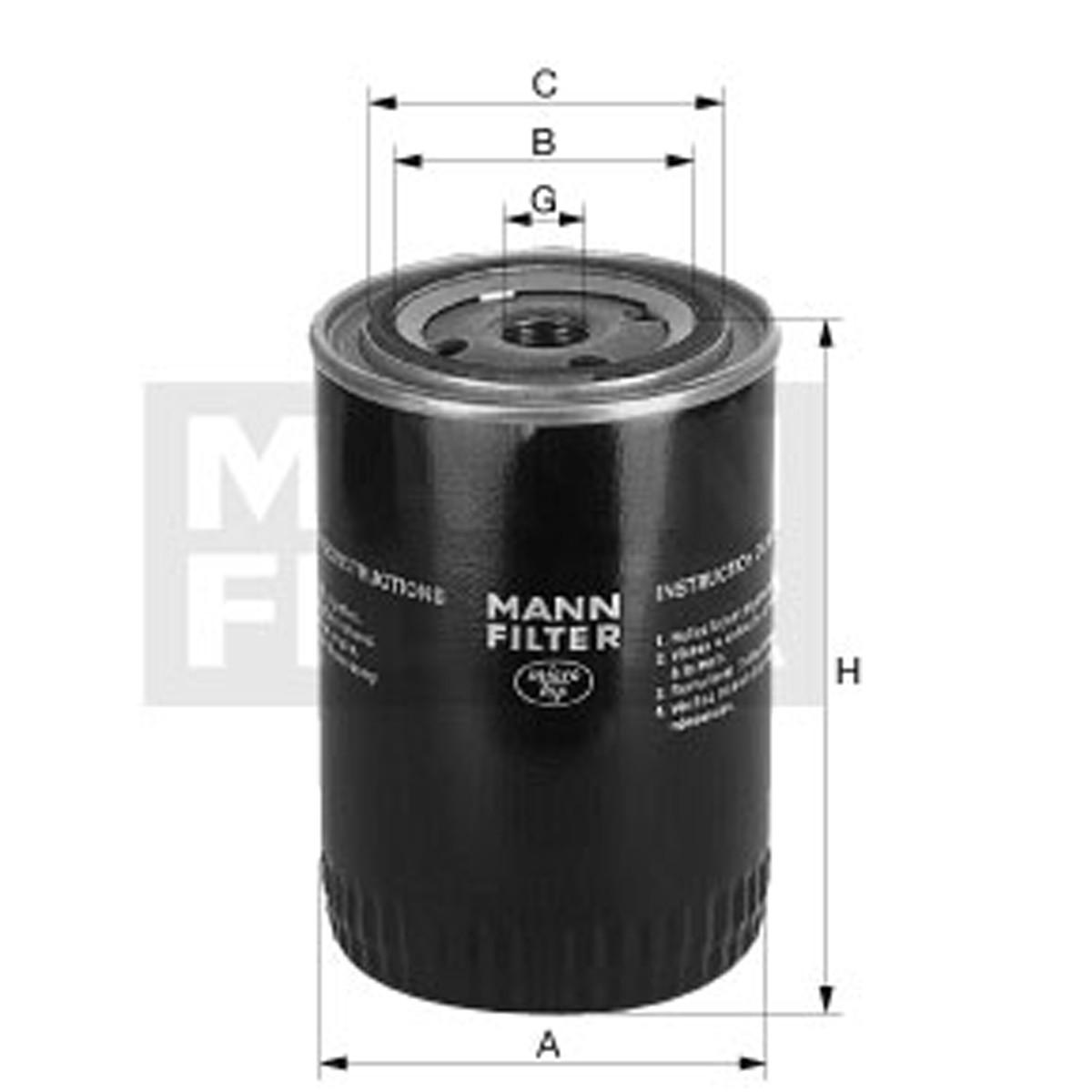 4438049用MANN-FILTER(曼牌滤清器)滤芯W1372/1