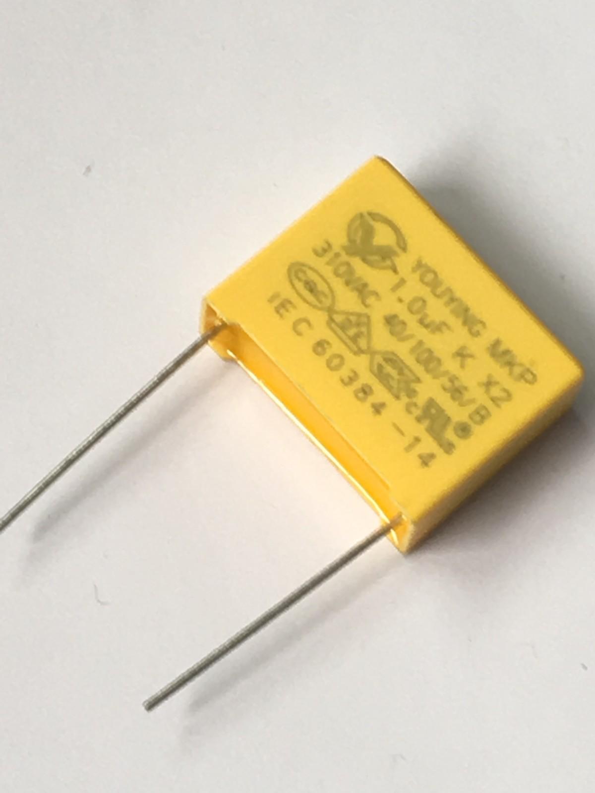 阻容降压专用X2安规电容 104K安规电容 额定电压 310V