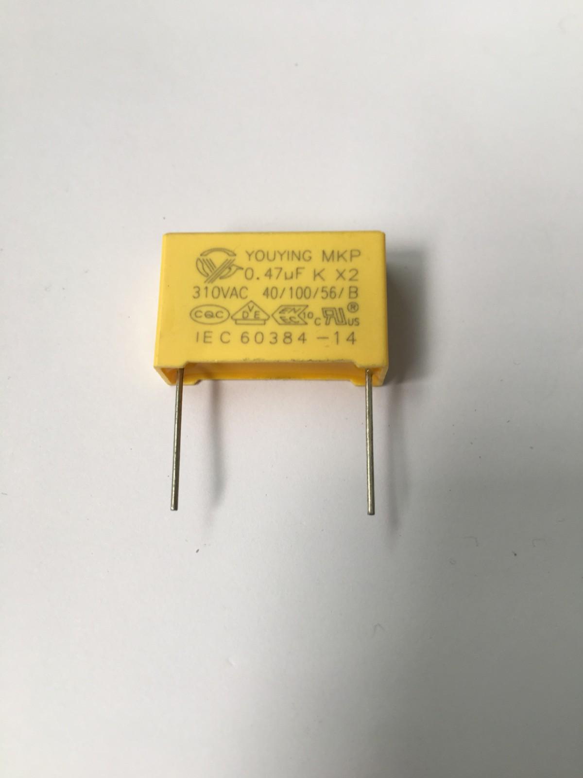 阻容降压专用X2安规电容 474K安规电容 额定电压 310V