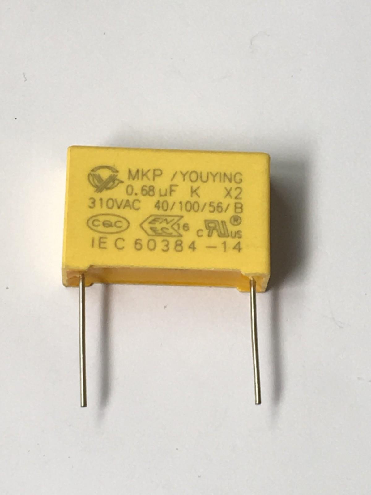 阻容降压专用X2安规电容 684K安规电容 额定电压 310V