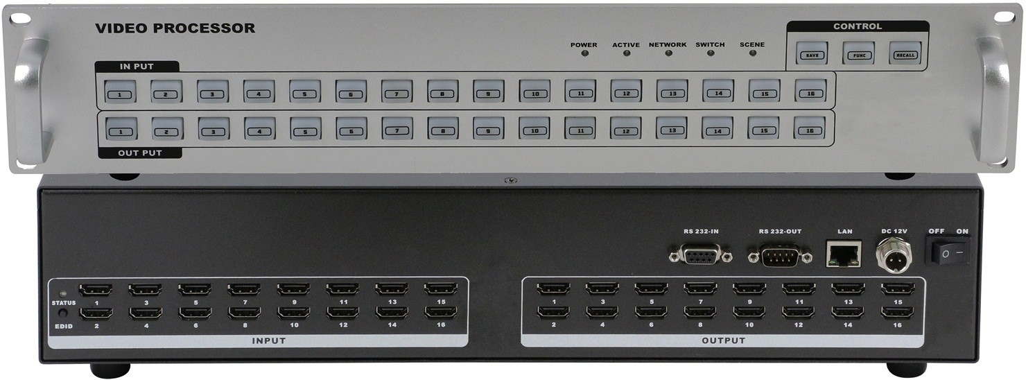 HDMI 网络中控hdmi矩阵 HDMI矩阵 hdmi矩阵 hdmi矩阵切换器